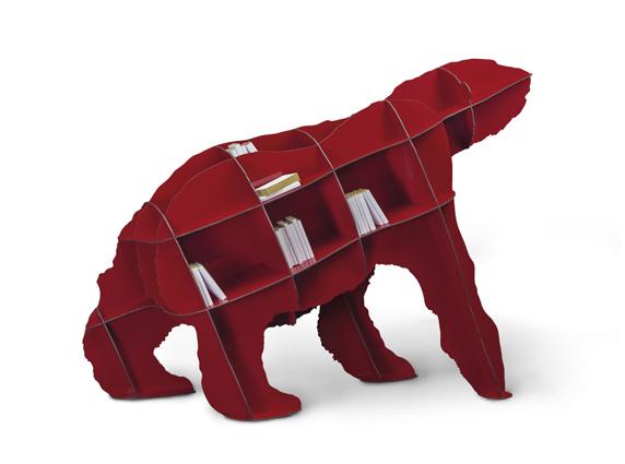 Red Joe βιβλιοθήκη αρκούδα