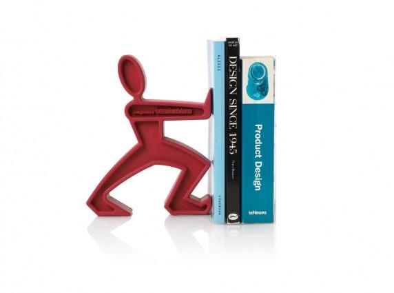 bookend λαστιχένιος βιβλιοστάτης