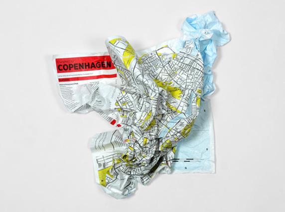 copenenhagen map χάρτης Κοπεγχάγης