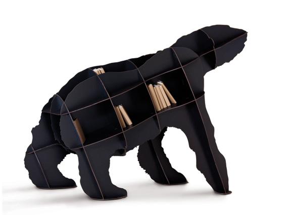 ibride joe βιβλιοθήκη σε σχήμα αρκούδας