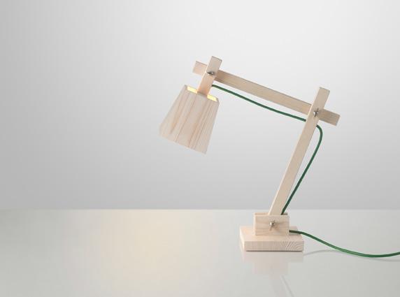muuto wood lamp φωτιστικό γραφείου