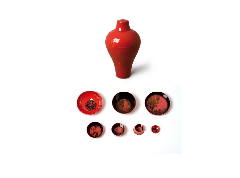 red ming μπωλ σερβιρίσματος