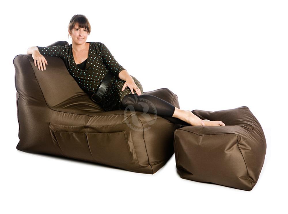 rlax chocolate πολυθρόνα πουφ