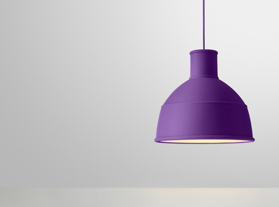 unfold purple μοντέρνο φωτιστικό οροφής από σιλικόνη