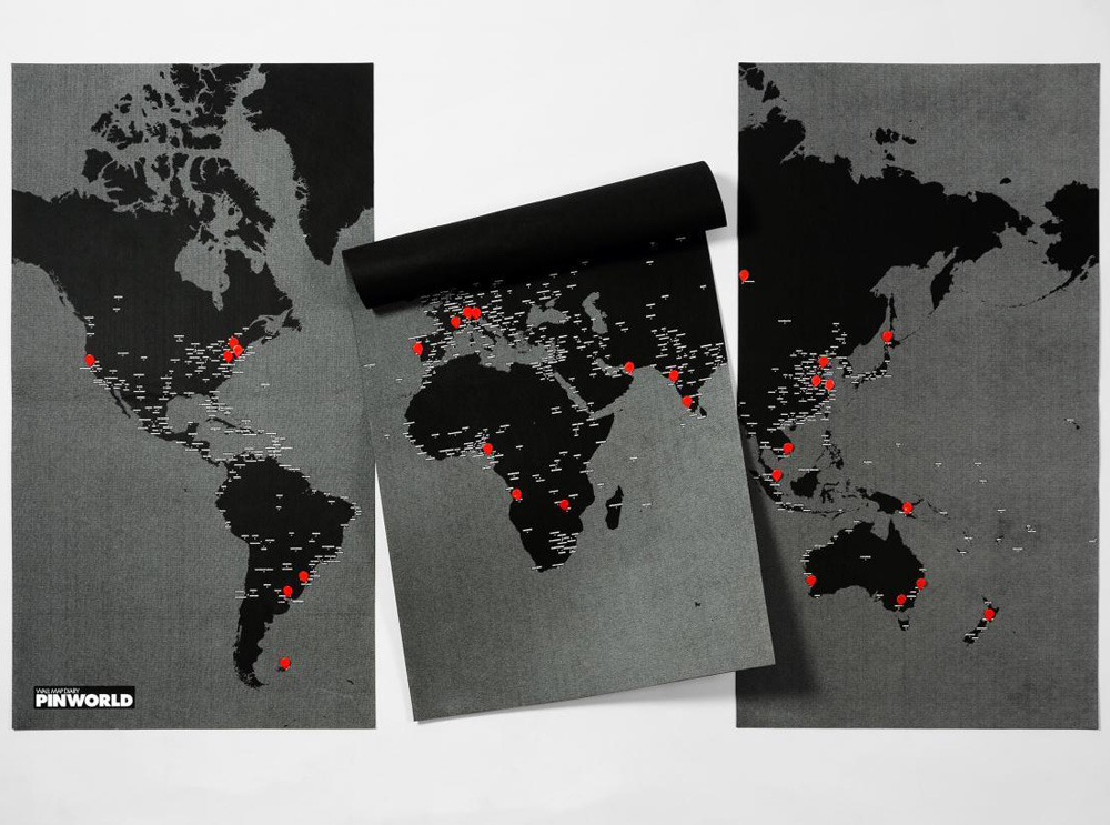 world pin map xxl χάρτης τοίχου
