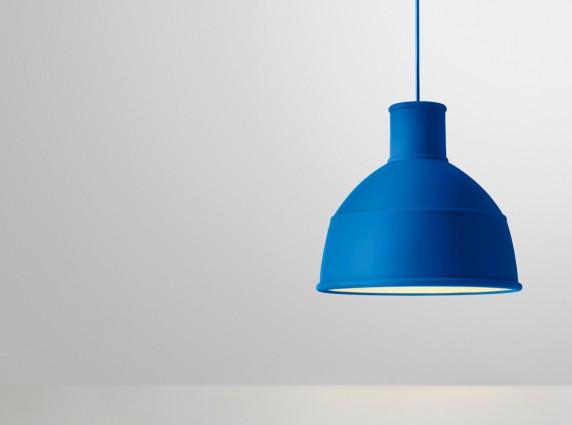 Unfold Blue μοντέρνο φωτιστικό οροφής