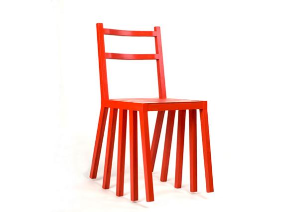 kudrika red μοντέρνα καρέκλα