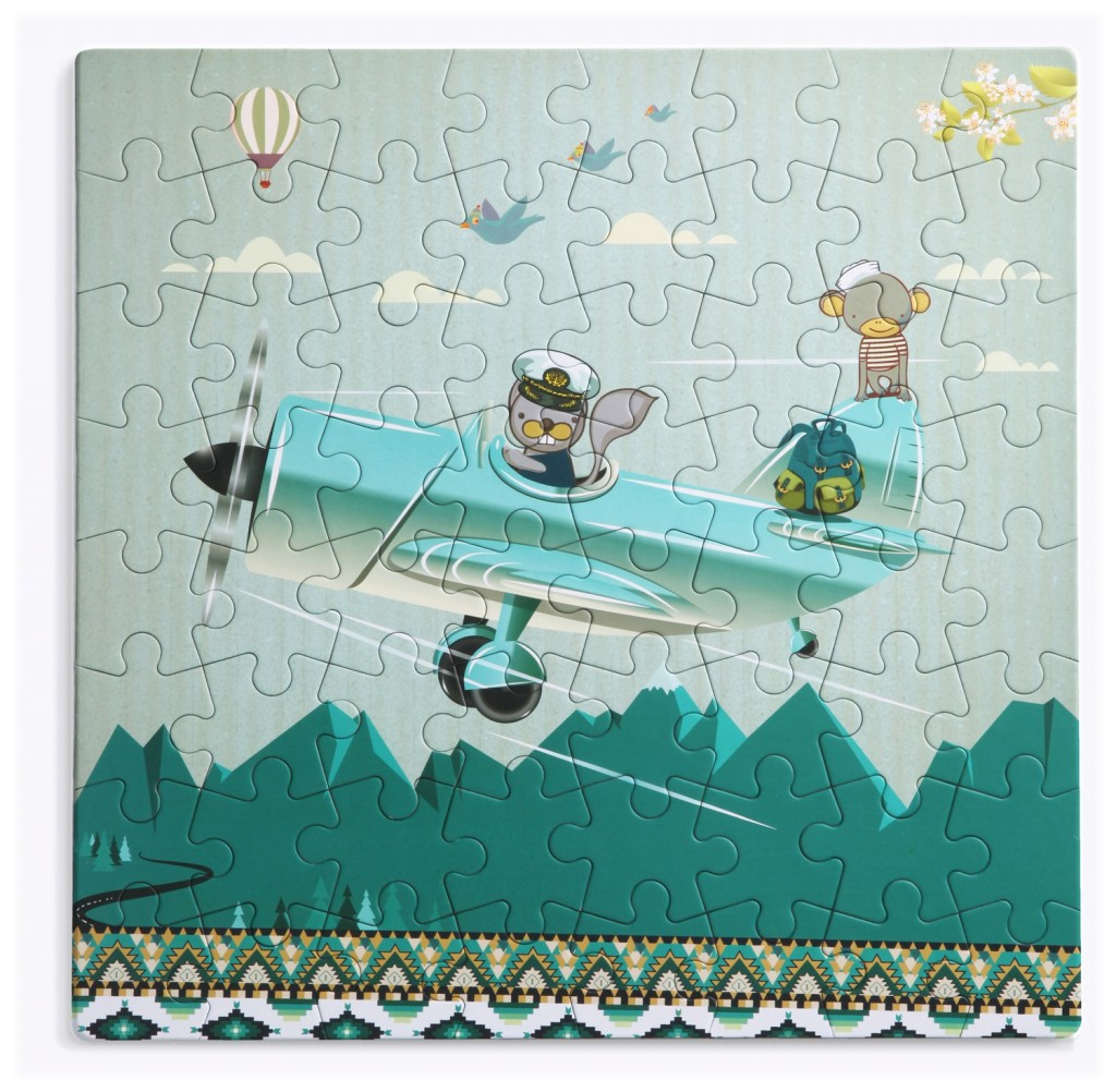 par-avion παιδικό παζλ