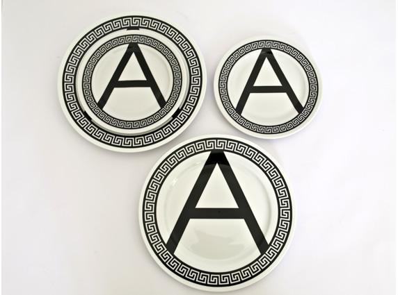 greeceisforlovers amen πιάτα από πορσελάνη