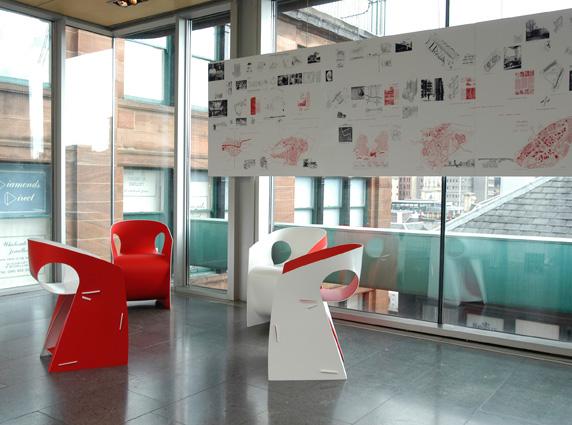 i-b-pop μοντέρνα καρέκλα από πολυπροπιλένιο