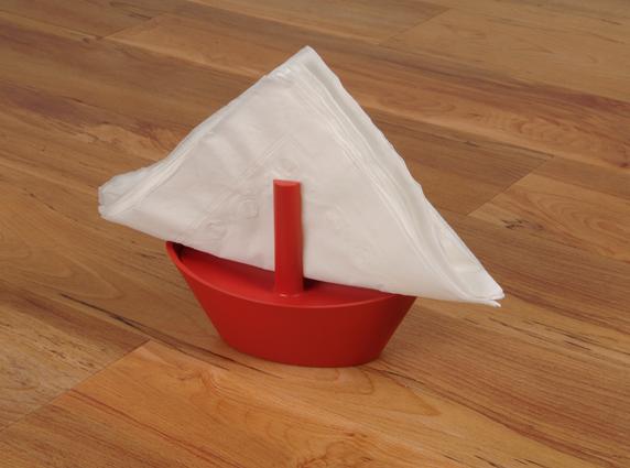 sailboat napkin μοντέρνα χαρτοπετσετοθήκη