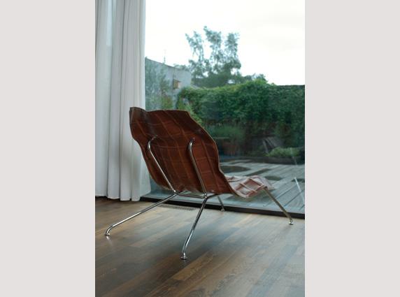 sander mulder vk001 δερμάτινη καρέκλα