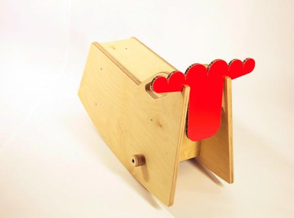 Zoo-red παιδικό αλογάκι
