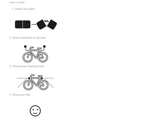 lucetta-know-how φως για ποδήλατο